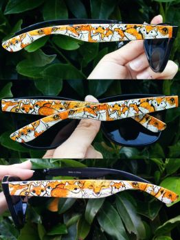 Handpainted Sunglasses by Caspalpo