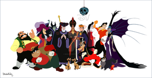 Disney Villains - A Major Collaboration PREVIEW by michaeljdapos
