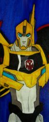 Robot in Disguise Bookmark by InkArtWriter