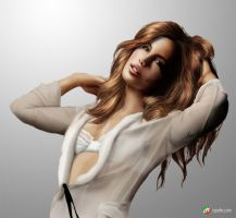 Kate Beckinsale by Gourmandhast