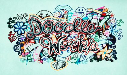 DOODLE WORKS COVER by ghelalala