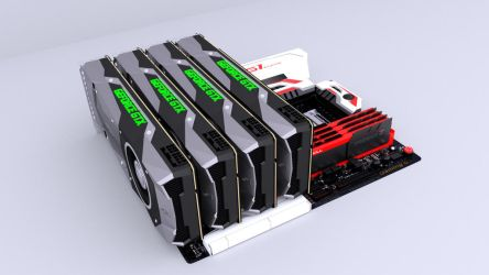 3D GTX 1080Ti On Gigabyte Motherboard by MKevinAdam