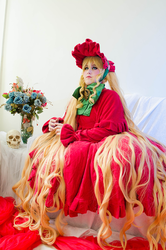 Rozen Maiden - Shinku Cosplay II by PriSuicun