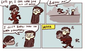 dishonored, doodles 38 by Ayej