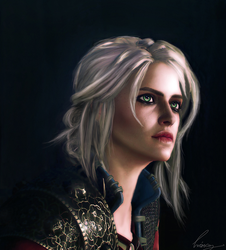 Ciri : The Witcher by Liancary-art
