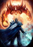 Diablo vs Arthas by JakeRowlands
