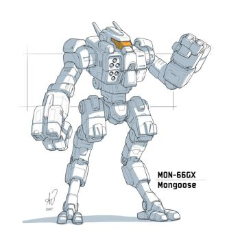 Mongoose Mech by shinypants