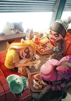 Splatoon Diner by nikogeyer