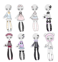 +Outfit Adoptable Mix 9 [ CLOSED ] + by Hunibi