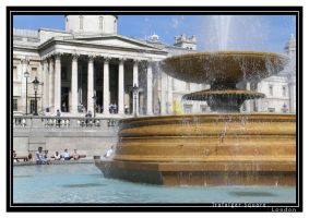 Trafalgar Square by photocell