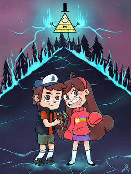 Gravity Falls by wishkoi