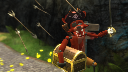 [GMod]Haunted Robo Pirate Fox by DaClassicDude
