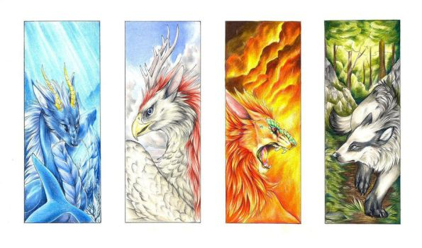 elements bookmarks by Quinneys