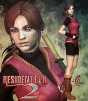 RESIDENT EVIL 2 CLAIRE ORIGINAL COSTUME by KitMartin