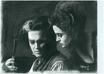 Sweeney Todd by isabellacantinos