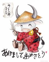 Year of the Ox 2009 by Tavicat