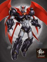 3/32 Robots / MAZINKAISER by FranciscoETCHART