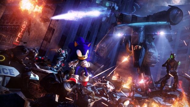 The Doomsday Device | Sonic by Urbanator