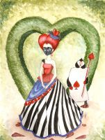 Queen of Hearts by PapillonParisien