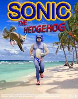 Sonic Movie Poster by HWO