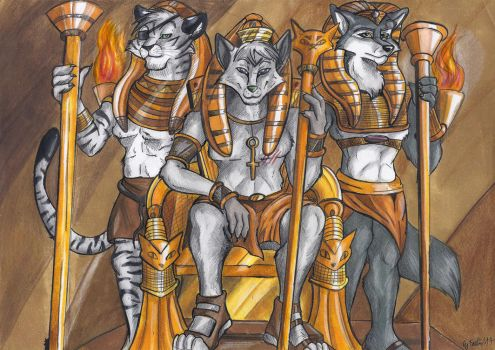 Pharaoh Brotherhood by StarlightsMarti