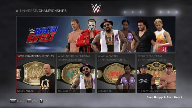 WWE 2K17: WrestleMania's Main Event by pm58790