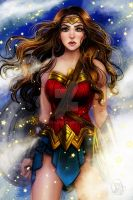 Wonder Woman by Roots-Love