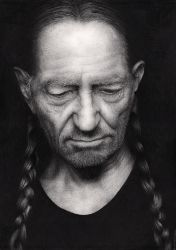 Willie Nelson by Bengtern