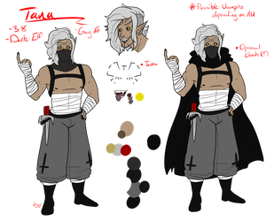 Tana - Main Ref by br00d-mother
