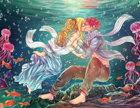 NaLu [inder water] by LeonS-7