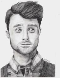 Daniel Radcliffe by DCSandface
