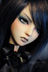 Face-up: Migidoll Yuri - 4 by asainemuri
