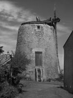 Moulin Baraigne 1 by VinceArt01