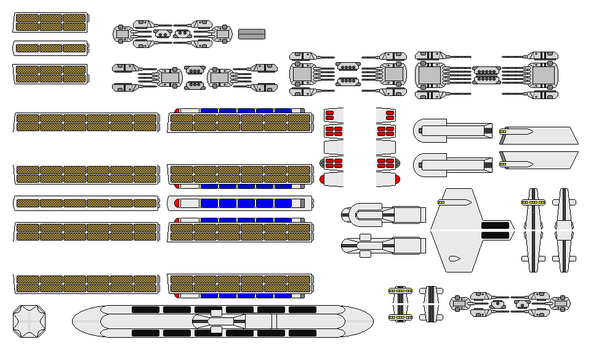 Star Trek - Dreadought Parts by GAT-X139