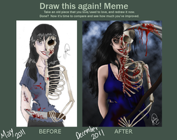 Draw This Again Meme by juliajm15