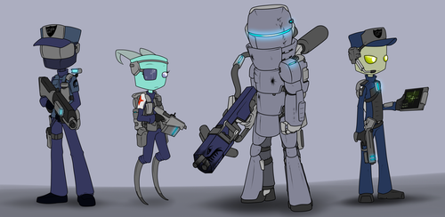 Comm. GP Empire Soldier Types by Sandwich-Anomaly