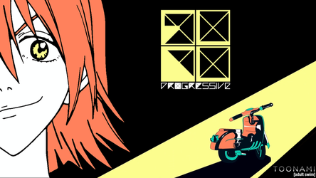 Toonami - FLCL Progressive Wallpaper #3 by JPReckless2444