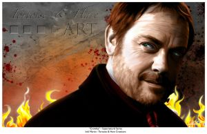 Supernatural's Crowley - 2015 by indigowarrior
