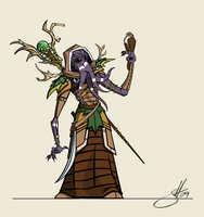 Druid Mindflayer by ElitistAsshole