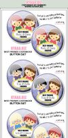 Best Friends Forever Buttons by shiricki