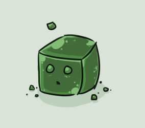 Minecraft: Slime by Woolifox