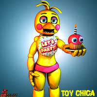 Toy Chica Poster. by SrLolbit