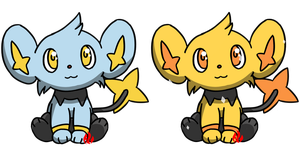 Pokemon #403 - Shinx by Fyreglyphs