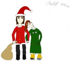 Christmas love colored by martinx17