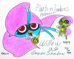 Willow as Green Shadow by komi114