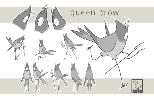 queencrow character sheet by VCR-WOLFE