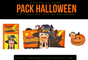 Pack Halloween by gabygomita