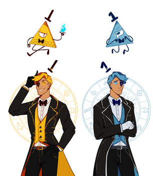 Bill cipher and will cipher by xNighten