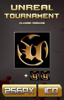 Unreal Tournament Classic Icon by bfrheostat