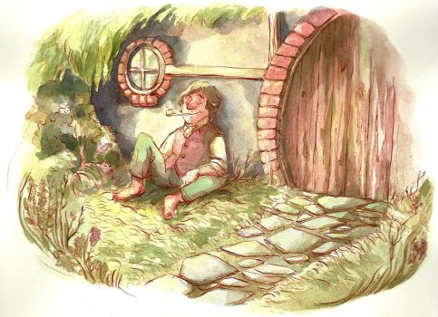 I wish I was a Hobbit guys by manonquinn
